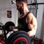 Ma séance de musculation des pectoraux et des biceps