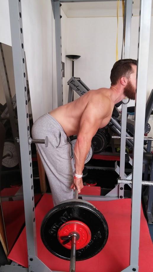 rowing yates exercice pour le dos