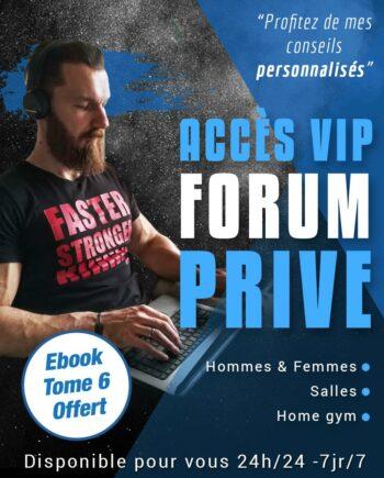Accès forum privé Méthode Street