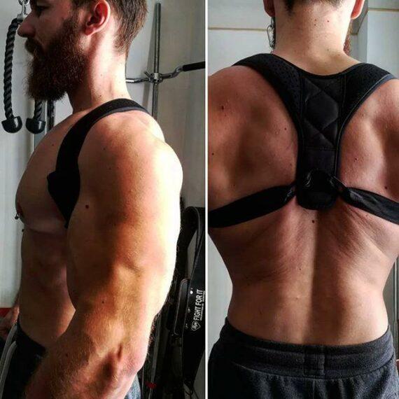 Redresser votre dos avec un correcteur de posture